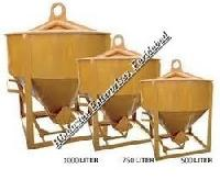 Side Discharge Arrangement Cone Type Concrete Bucket 04
