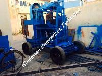 Two Pole Concrete Mixer with Mechanical Lift 01