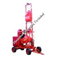 Two Pole Concrete Mixer with Mechanical Lift 03