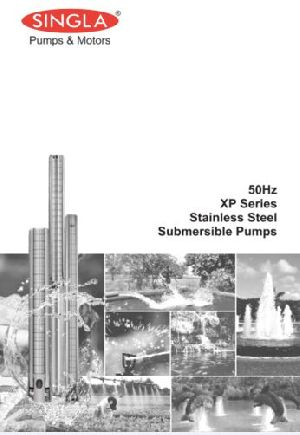XP Series Stainless Steel Submersible Pump