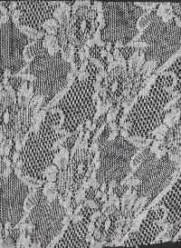 Floral Net Fabric 02
