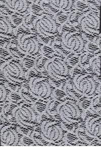Floral Net Fabric 04