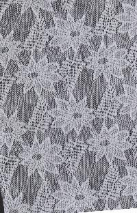 Floral Net Fabric 05