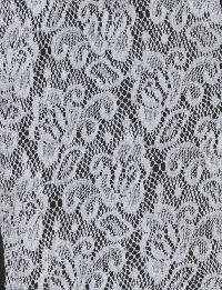 Floral Net Fabric 06