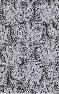 Floral Net Fabric 10