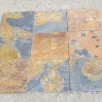 Golden Slate Stones 02