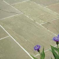 Raj Green Sandstone Pavings