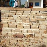 Sandstone Walling 06
