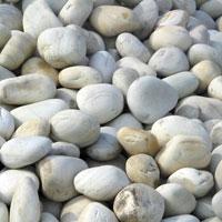 Snow White Pebbles Stone