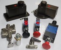 Bottom Loading Tanker all valves group