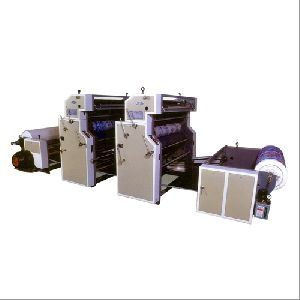 Reel to Reel Paper & Non-Woven Printing Machine