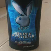 Super Playboy Shower Gel And Shampoo