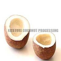 Dried Coconut Two Halves
