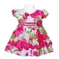 Baby Girls' Frocks with Sleeves