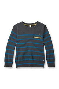 Boys' Striped Sweatshirt