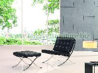 Elegant Barcelona Lounge Chair
