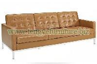 Modern Brown Chesterfield Sofa