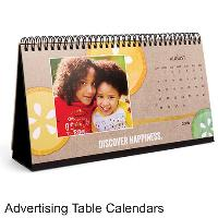 Advertising  Table Calendars
