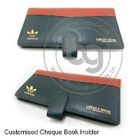 Customized Cheque Book Holders