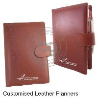 Customised Leather Planners