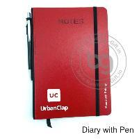 Diary wth Pen