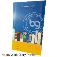 Home Work Diary Printer
