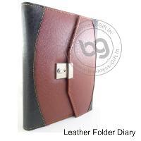Leather Folder Diary