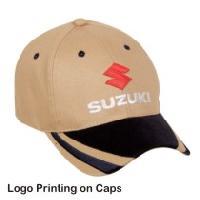 Logo Printing on Caps