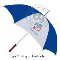 Logo Printing on Umbrella