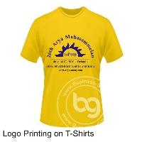Logo Printing on T-Shirts