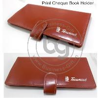 Print Cheque Book Holders