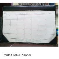 Printed  Table Planner