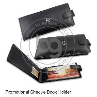 Promotional  Cheque Book Holders