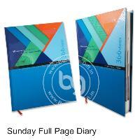 Sunday Full Page Diary