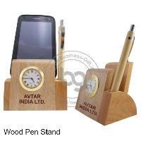 Wood Pen Stand