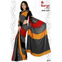 D. No. 575(b) Printed Saree