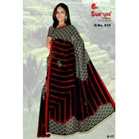 D. No. 619(a) Printed Saree