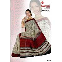 D. No. 675(c) Printed Saree