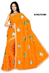 D. No. 72092 Embroidered Sarees