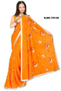 D. No. 72180 Embroidered Sarees
