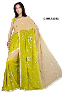 D. No. 722122 Embroidered Sarees