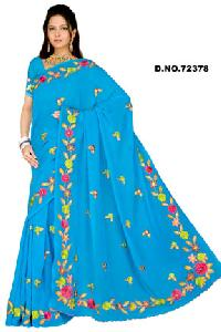 D. No. 72378 Embroidered Sarees