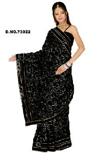 D. No. 73022 Embroidered Sarees
