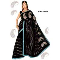 D. No. 73200 Embroidered Sarees