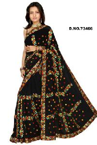 D. No. 73466 Embroidered Sarees