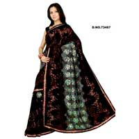 D. No. 73467 Embroidered Sarees