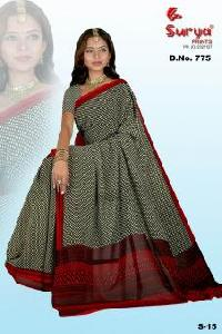 D. No. 775 Printed Saree