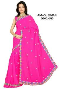 Embroidered Sarees - 003