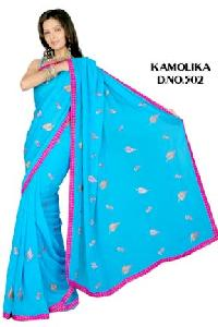 Embroidered Sarees - 502