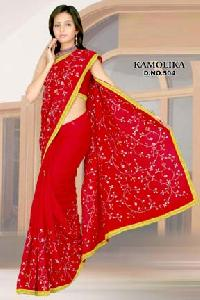 Embroidered Sarees - 504